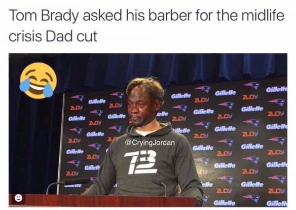 Tom Brady Crying Jordan