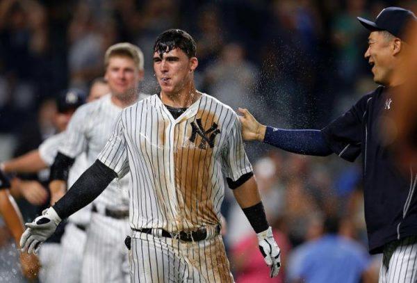 Tyler Austin, Yankees Home Run