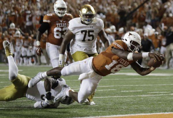 Tyrone Swoopes, Texas
