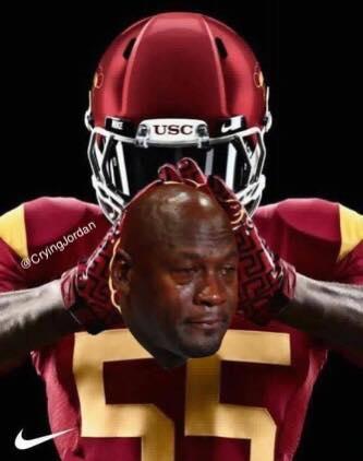 USC Crying Jordan 2