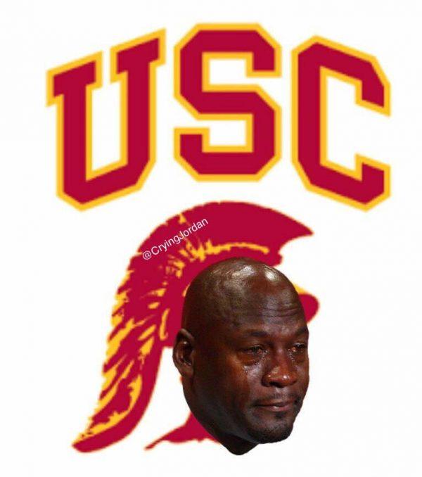 USC Crying Jordan