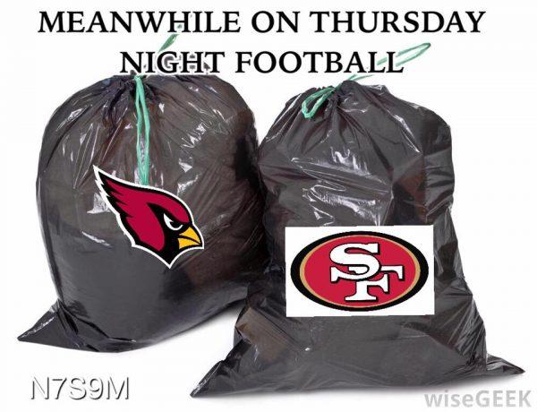 49ers-cardinals-trash