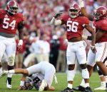 Alabama Defense crushes A&M