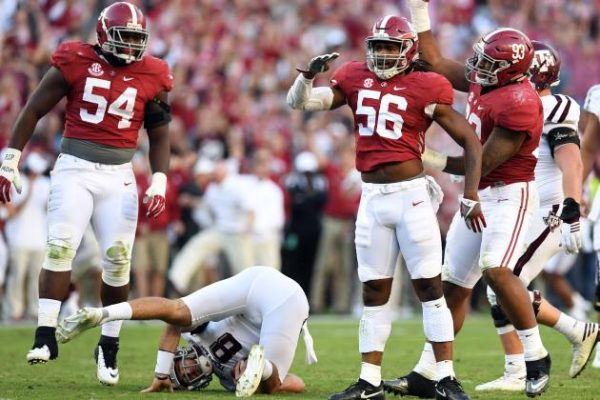Alabama Defense crushes A&M