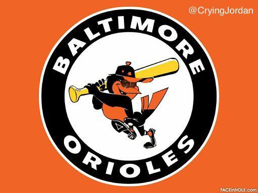 Baltimore Orioles Crying Jordan