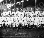 Chicago Cubs 1908 Photo