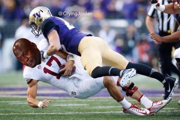 Crying Jordan Stanford