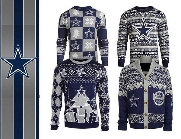 Dallas Cowboys Ugly NFL Christmas Sweater 2016