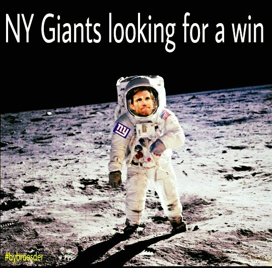 Giants & Eli Looking for a win