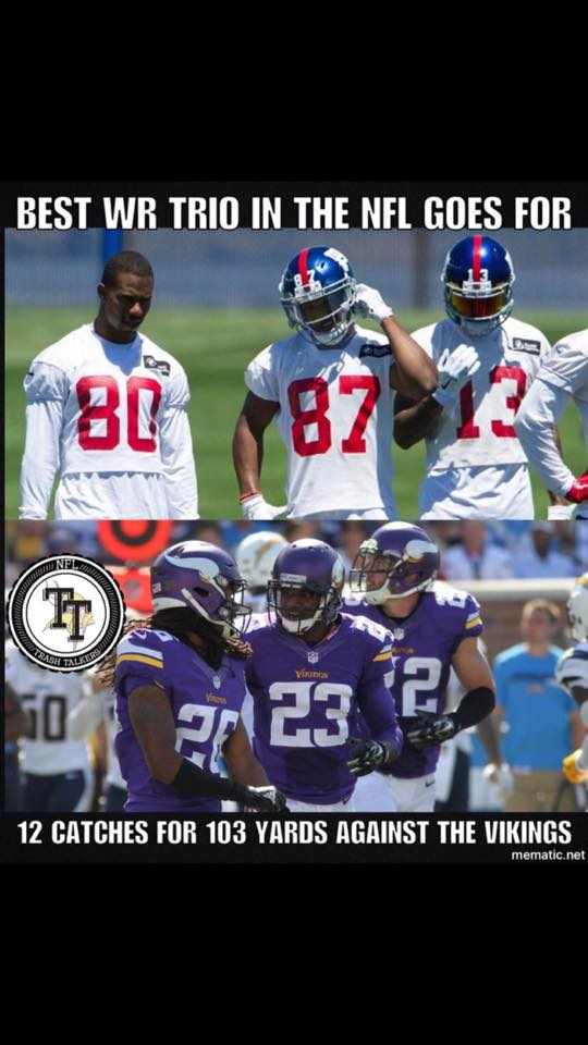 Giants trio