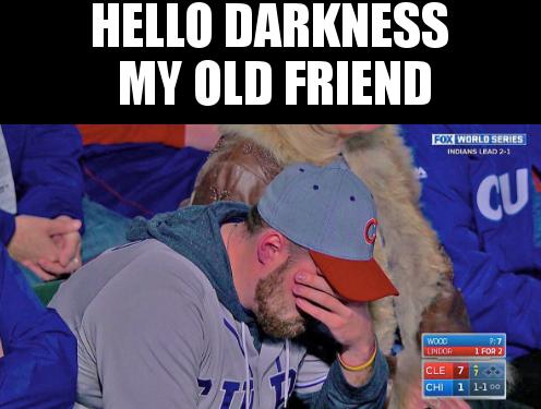 Hello Darkness My Old Friend Meme Sportige