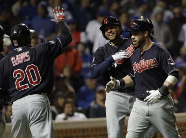 Indians beat Cubs World Series Game 4