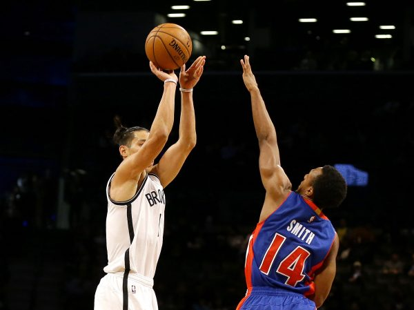NBA: Preseason-Detroit Pistons at Brooklyn Nets