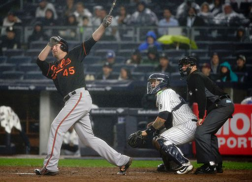 Mark Trumbo home run