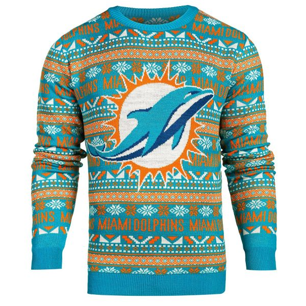 miami-dolphins-ugly-christmas-sweater