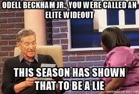 Odell Beckham Fake