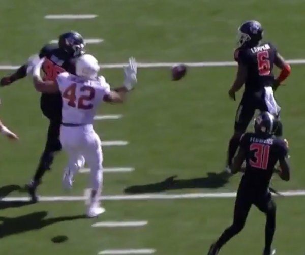 Oklahoma State Lateral Pass