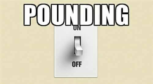 pounding-off