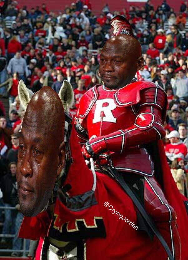 rutgers-knight-horse-crying-jordan