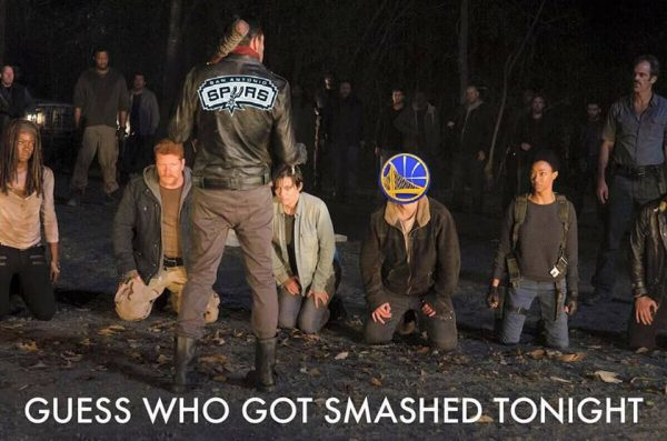 spurs-warriors-walking-dead