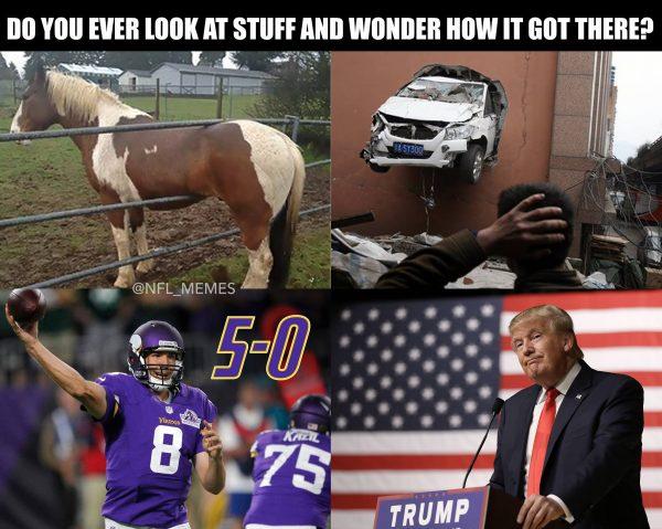 2dRtAqr 12 best memes of the minnesota vikings defense destroying brock