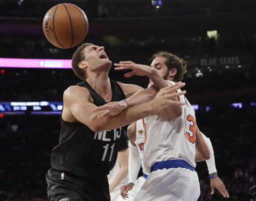 Brook Lopez, Nets Knicks