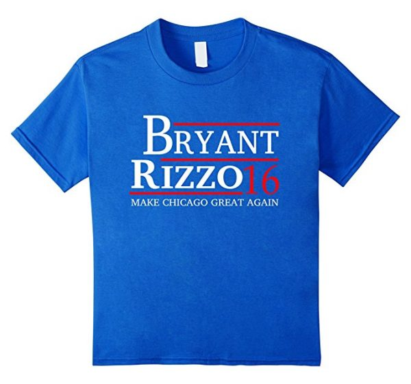 Bryant and Rizzo Make Chicago Great Again T-Shirt