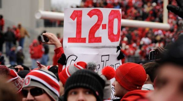 Buckeyes 12-0 in 2012