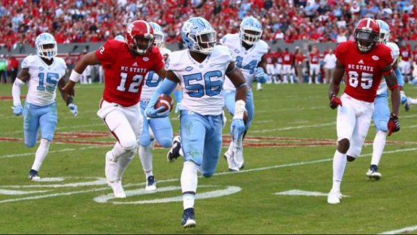 Carolina-State Football Rivalry