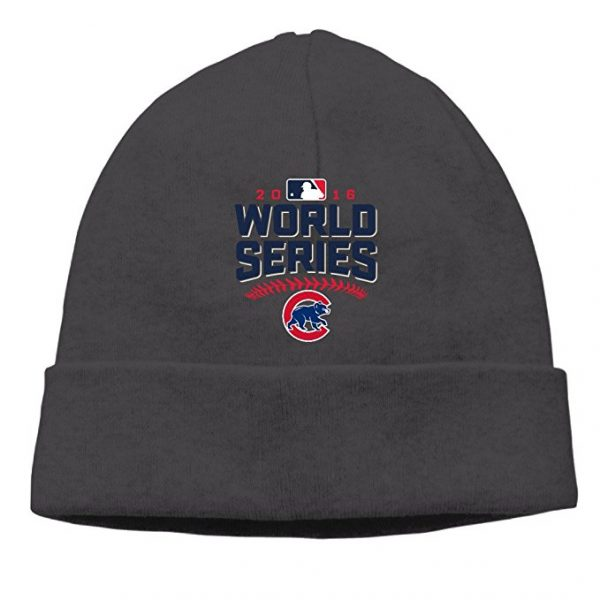 Chicago Cubs 2016 World Series Champions Beanie Cap Hat