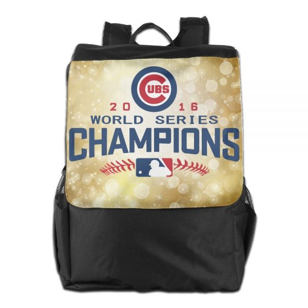 Chicago Cubs 2016 World Series Champions Backpack