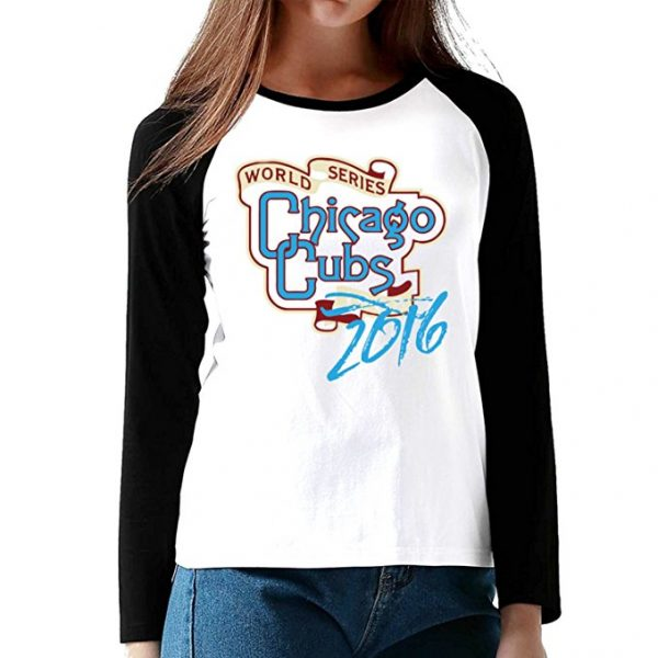 Chicago Cubs 2016 World Series Champions Long Sleeve Shirt for Men & Women