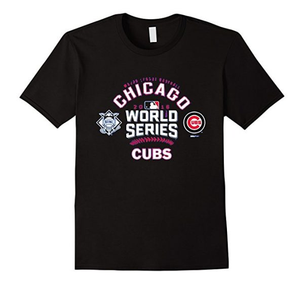 Chicago Cubs 2016 World Series Champions T-Shirt Baseball