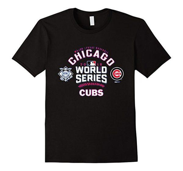 pretty nice 76c12 df953 Chicago Cubs 2016 World Series Champions T-Shirt Baseball ...
