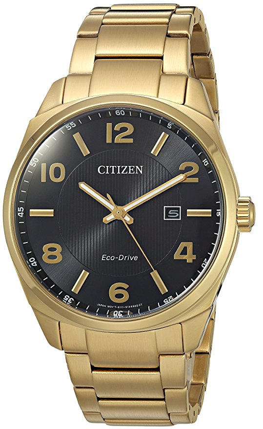 Citizen Men's Eco-Drive Casual Gold Watch
