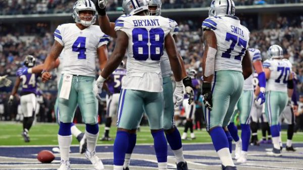 Cowboys Touchdown Celebration