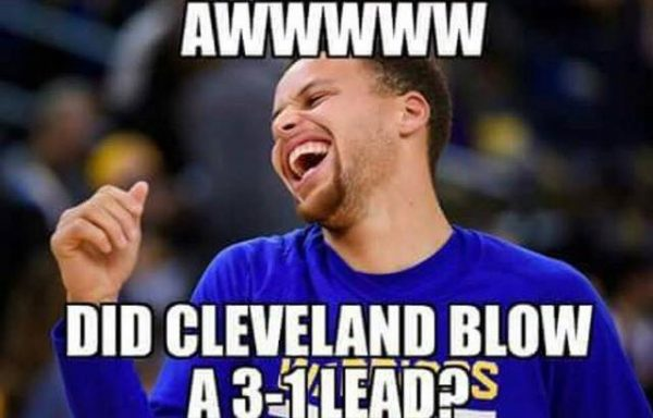 curry-gloating
