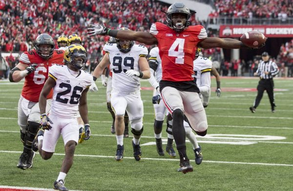 Curtis Samuel vs Michigan