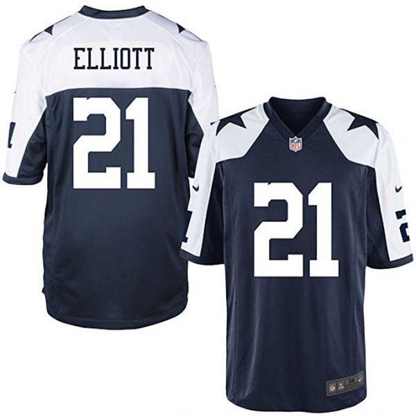 Dallas Cowboys Ezekiel Elliott Thanksgiving Jersey