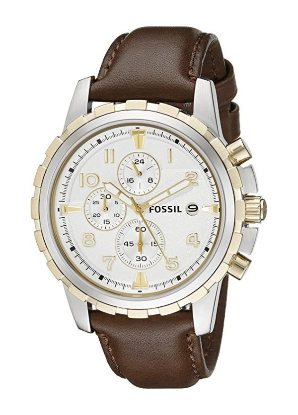 Fossil Dean Chronograph Leather Watch