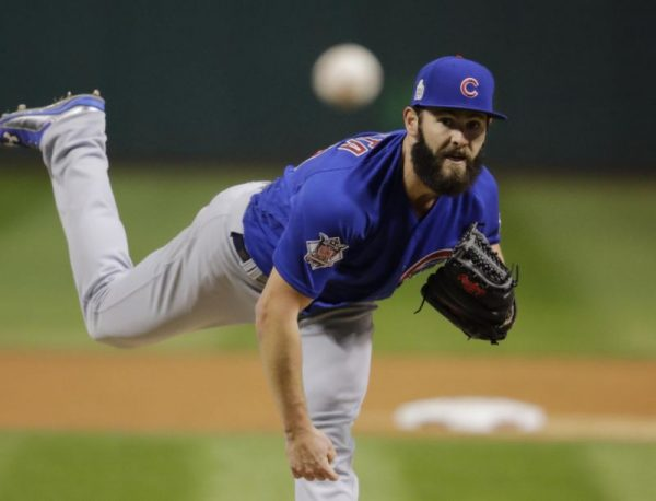 Jake Arrieta vs Indians