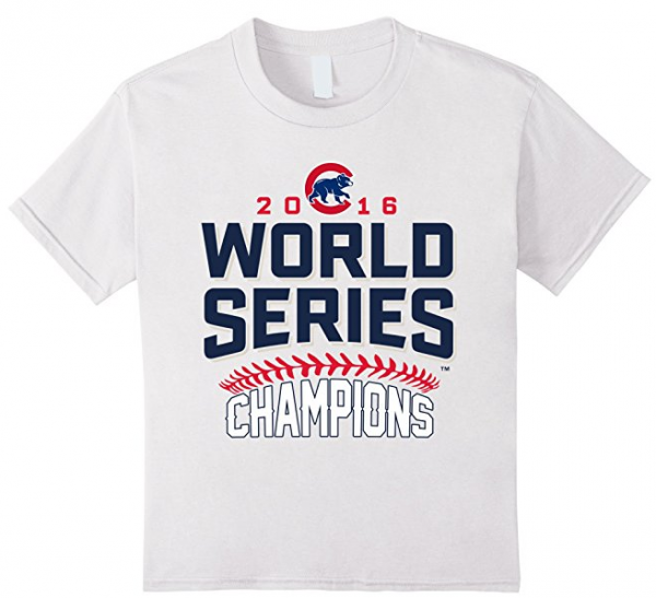 Kids Chicago Cubs World Series Champions 2016 T-Shirt