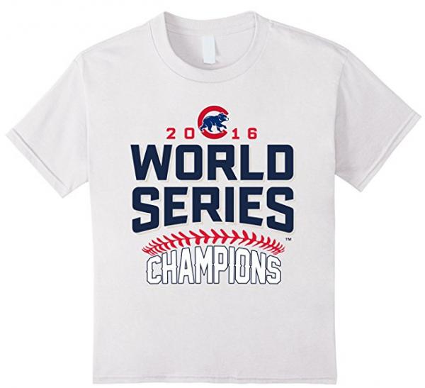 Kids Chicago Cubs World Series Champions 2016 T-Shirt