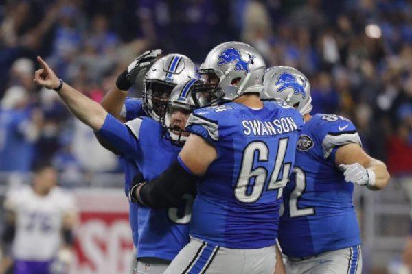 Lions beat Vikings