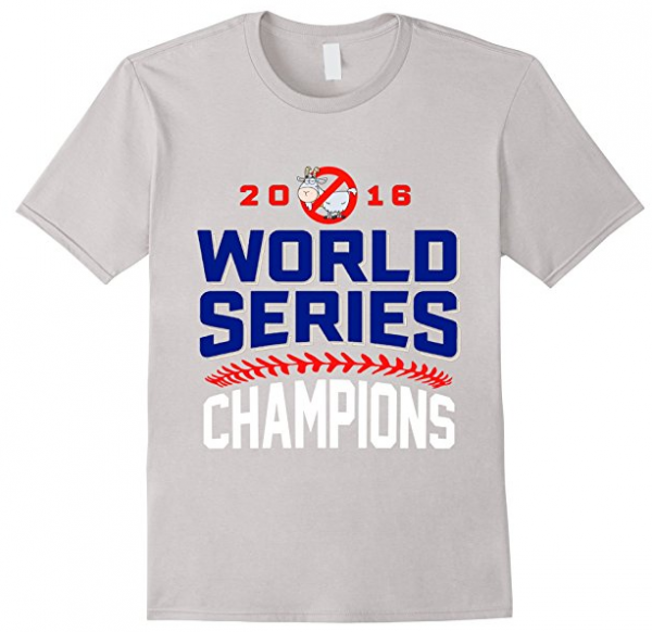 Men's Chicago Cubs World Series Champions 2016 T-Shirt