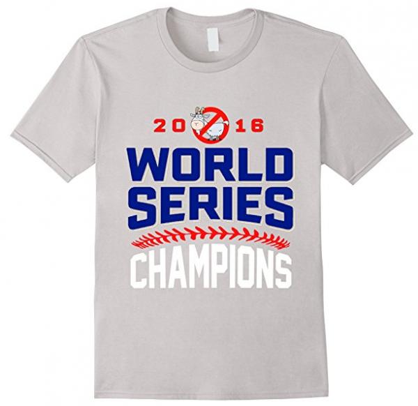 Men's Chicago Cubs World Series Champions 2016 T-Shirt