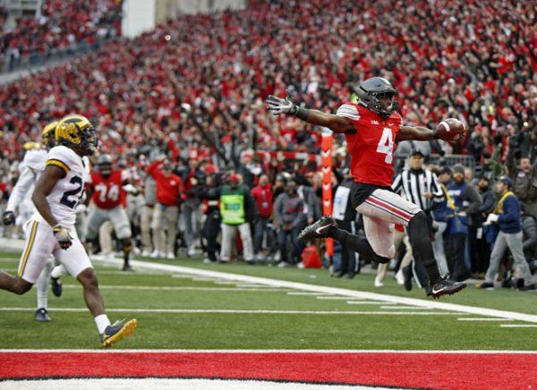 Ohio State Michigan 30-27