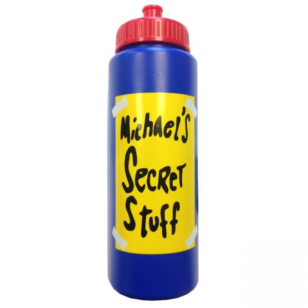 Space Jam Michael's Secret Stuff Bottle