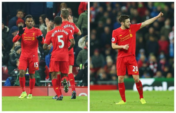 Adam Lallana, Daniel Sturridge