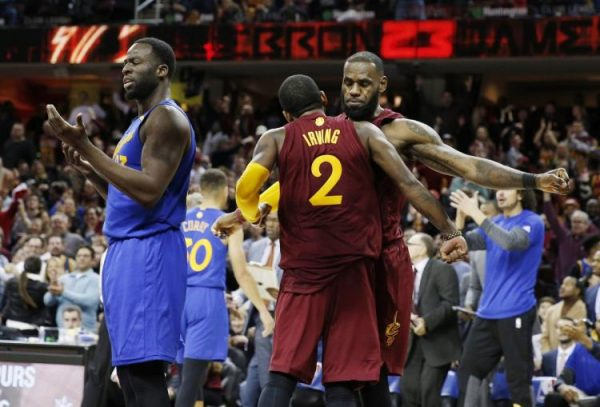 LeBron James, Kyrie Irving, Draymond Green